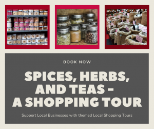 Spices, Herbs, and Teas - A Shopping Tour