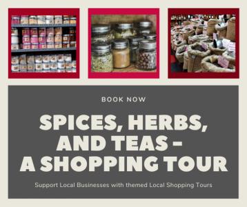 Spices, Herbs, and Teas - A Shopping Tour